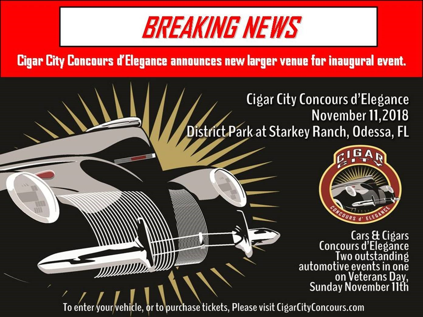 breaking news cigar city concours d elegance